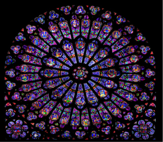 Gothic Rose Windows The Wheel Of Fortune Christ Is Our Center