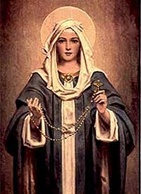 Mary-and-the-rosary