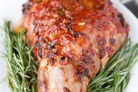 Honey-glazed-lamb