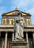 Front_of_the_Basilica_of_Saint_Paul_Outside_the_Walls_-_Roma_-_Italy