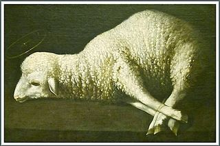 Lamb of God, Zurgaran, framed