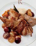 Roast-squab-bacon