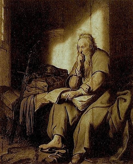 Rembrandt, St. Paul in Prison, 1627