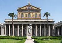 Roma_San_Paolo_fuori_le_mura_BW_1