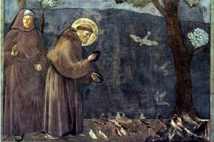 Giotto-legend-of-st-francis-sermon-to-the-birds-detail-featured-w740x493